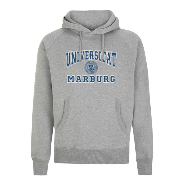 Unisex Hooded Sweatshirt, light heather grey, classic