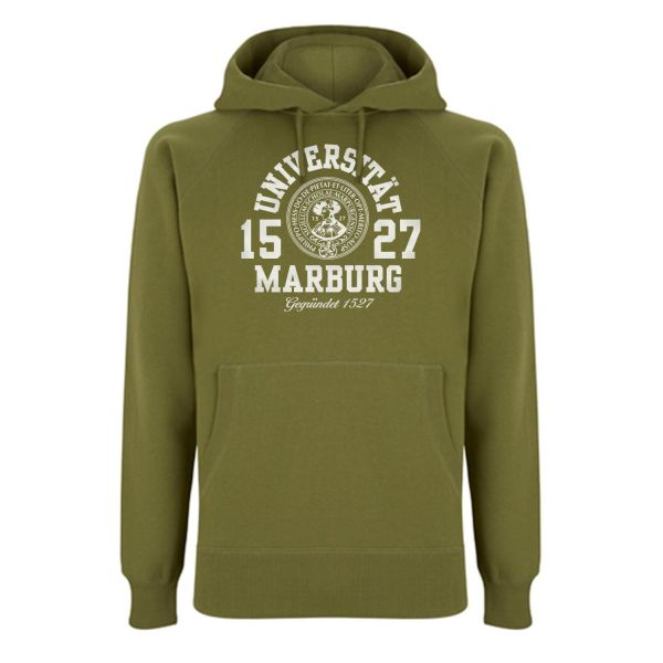 Unisex Hooded Sweatshirt, khaki green, marshall