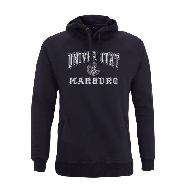 Herren Hooded Sweatshirt, navy, classic