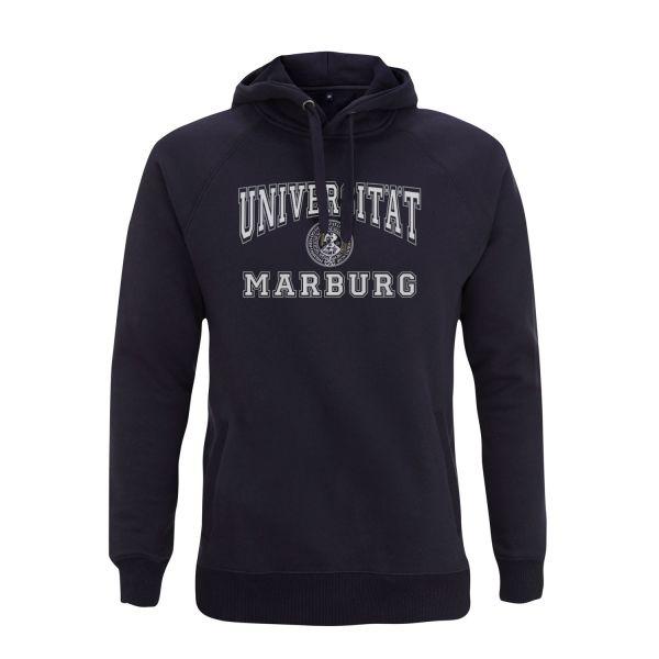 Herren Hooded Sweatshirt, navy, classic