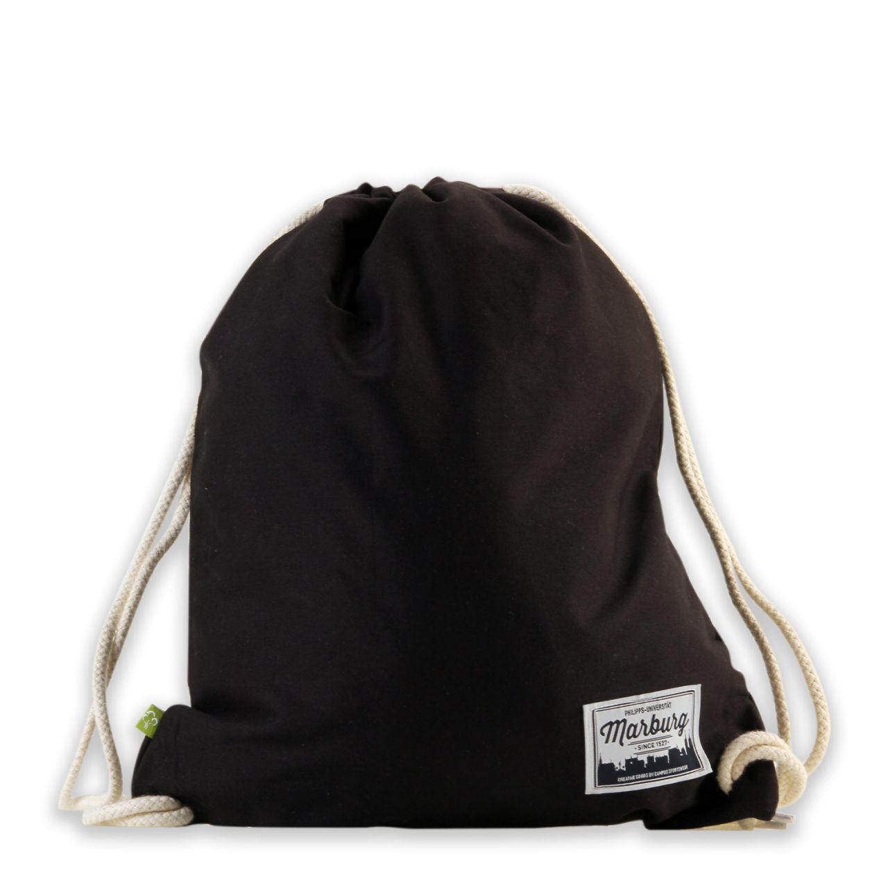 Organic Gymbag, black, label