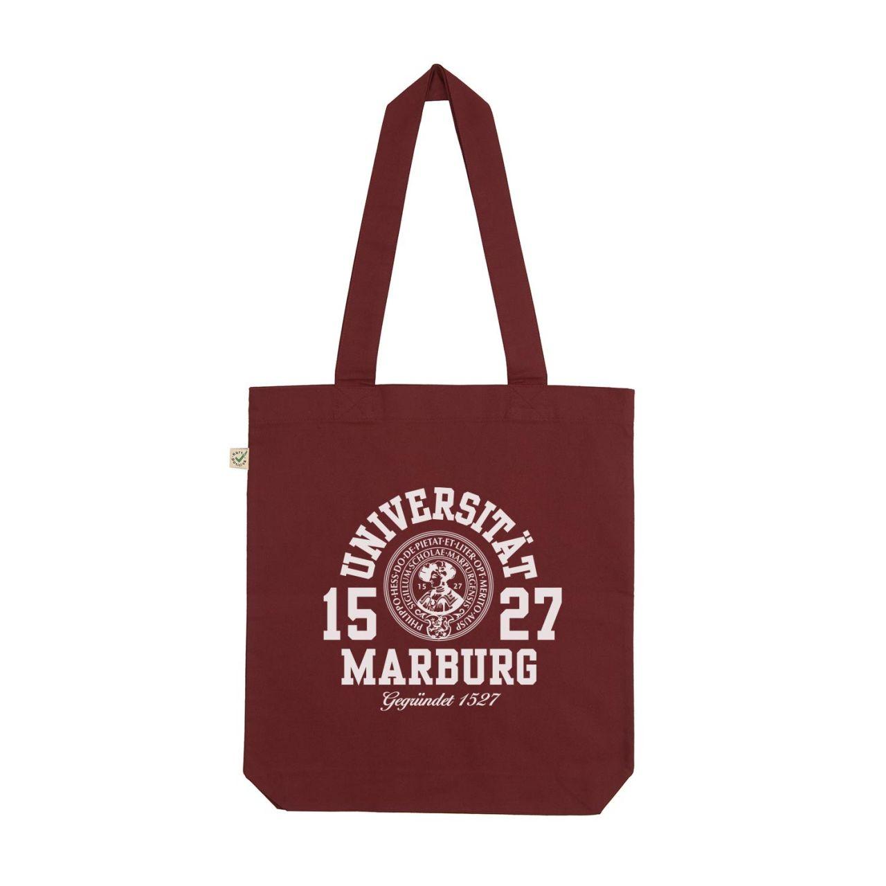 Tote Bag, burgundy, marshall