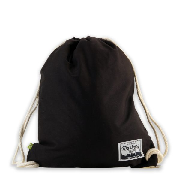 Organic Gymbag, black, label